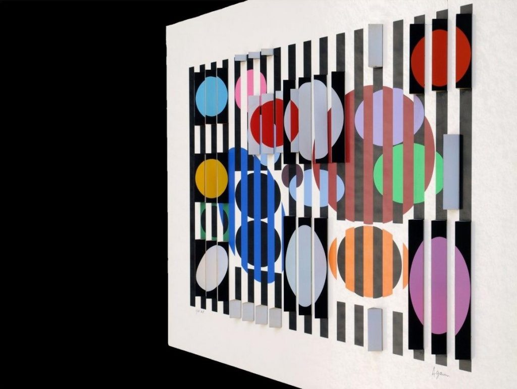Yaacov Agam - 2+3=4 - right